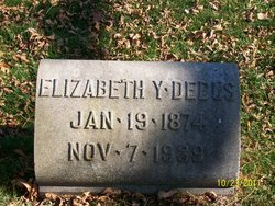 "Elizabeth Frances ""Lizzie"" <I>York</I> Debus"