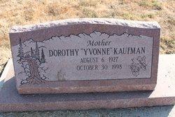 "Dorothy ""Yvonne"" Kaufman"