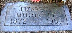 Lizabeth Amanda <I>Rogers</I> McDonald