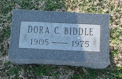 Dora Gertrude <I>Collison</I> Biddle