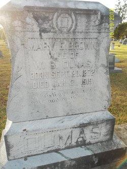 Mary E. <I>Brown</I> Dumas