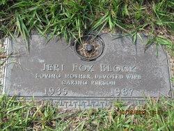 """Geraldine """"Jeri"""" <I>Fox</I> Block"""