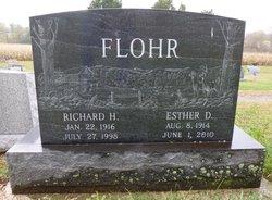 Esther D. <I>Wagner</I> Flohr