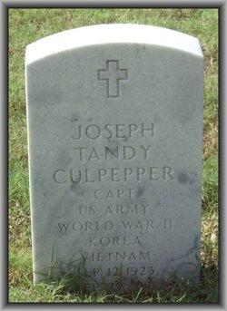 Joseph Tandy Culpepper
