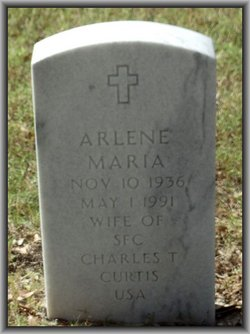 Arlene Maria Curtis