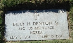 Billy Harold Denton, Sr