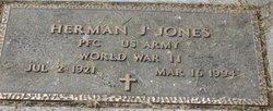 Herman J Pete Jones