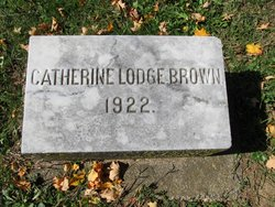 Catherine <I>Lodge</I> Brown