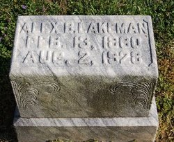 Alexander B Lakeman