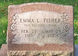 Emma L <I>Zook</I> Bentley Fisher