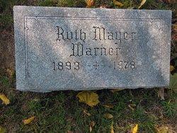 Ruth Nettie <I>Jorgensen</I> Warner