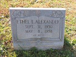 Ethel L. <I>Compton</I> Alexander
