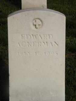 Corp Edward Ackerman