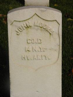 Pvt John Moore