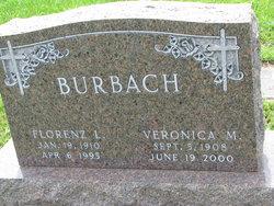 Veronica Martha Marie <I>Lammers</I> Burbach