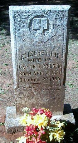 Elizabeth Hannah <I>Wright</I> Pridgen