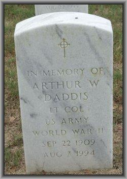 Arthur W Daddis