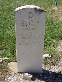 John A. Driskill