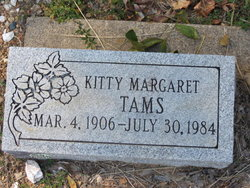 Kitty Margaret <I>Maness</I> Tams