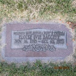 Eloise <I>Ivie</I> Baggett