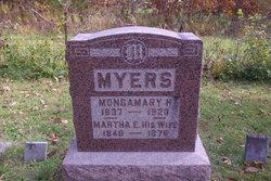 Martha Ellen <I>McDade</I> Myers