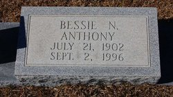Bessie N Anthony