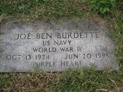 "Joseph Benjamin ""Joe Ben"" Burdette"
