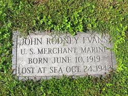 John Rodney Evans