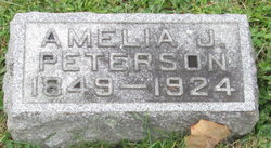 Amelia J. Peterson