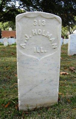 A. J. Jack Holman