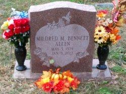 Mildred May <I>Bennett</I> Allen