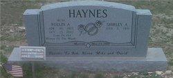 Shirley Aileen <I>Jackson</I> Haynes