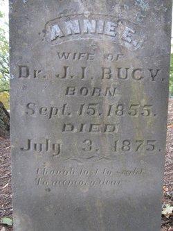 Ann Eliza <I>Veazey</I> Bucy