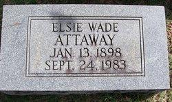 Elsie <I>Wade</I> Attaway