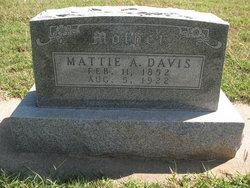 Mattie Ann <I>Nichols</I> Davis