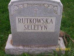 Zofia <I>Rutkowska</I> Seletyn