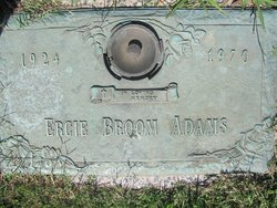 Ercie <I>Broom</I> Adams
