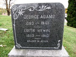 Edith <I>Griffiths</I> Adams