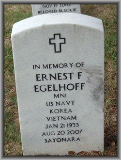 Ernest F Egelhoff