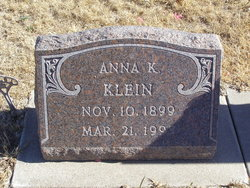 Anna Katherine Klein