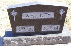 Anna M Whitney