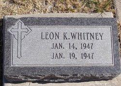 Leon K Whitney