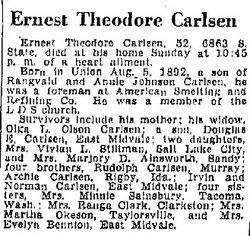 Ernest Theodore Carlsen