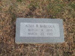 Alma B. <I>Sater</I> Babcock