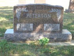"""Augusta Margretta Christina """"Maggie"""" <I>Ebsen</I> Peterson"""