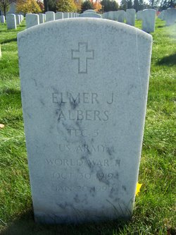 Elmer J Albers