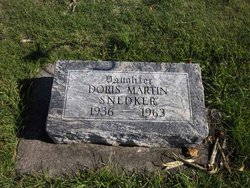 Doris June <I>Martin</I> Snedker