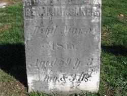 Benjamin Franklin Hunsaker, Sr
