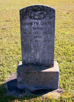 Lucretia <I>Tipton</I> Carter