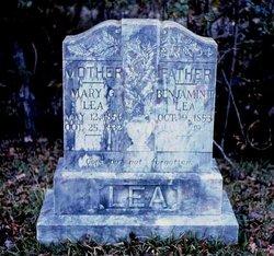 Mary Gabraelin <I>Raborn</I> Lea